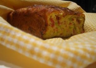 cake poireau bacon conté