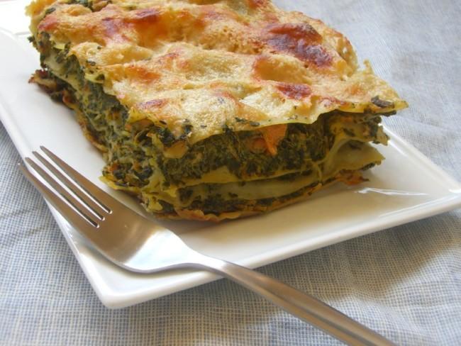 lasagnes épinard saumon