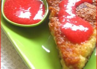 recette gateau amandes rhubarbe