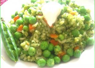 recette risotto petits pois pesto