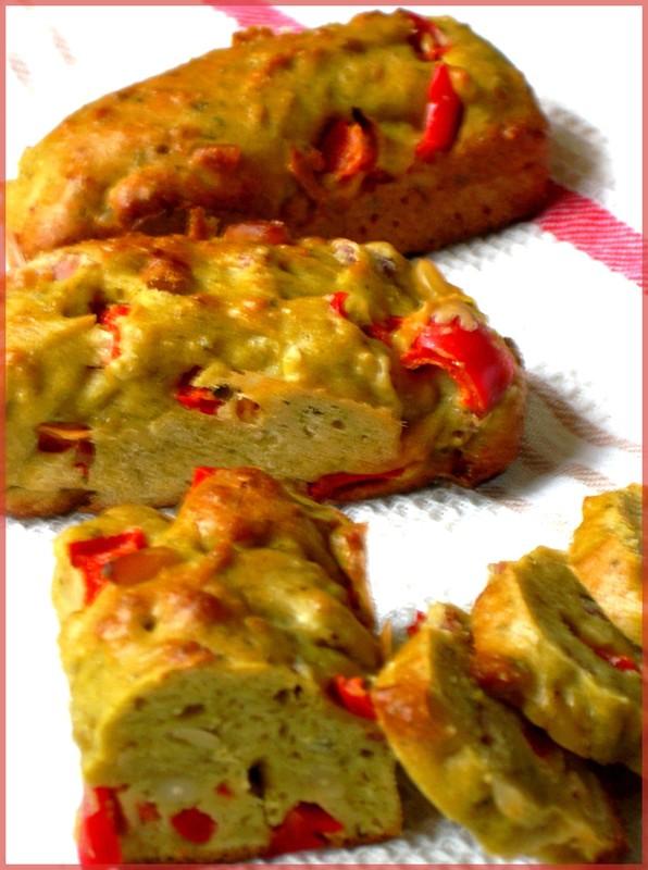 Recettes Cake Poivrons