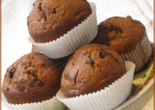 recette muffins chocolat noix de pécan