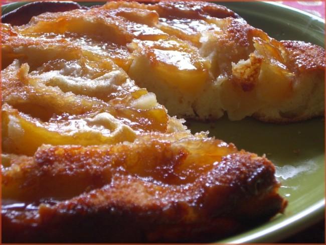 recette quattre quart aux pommes