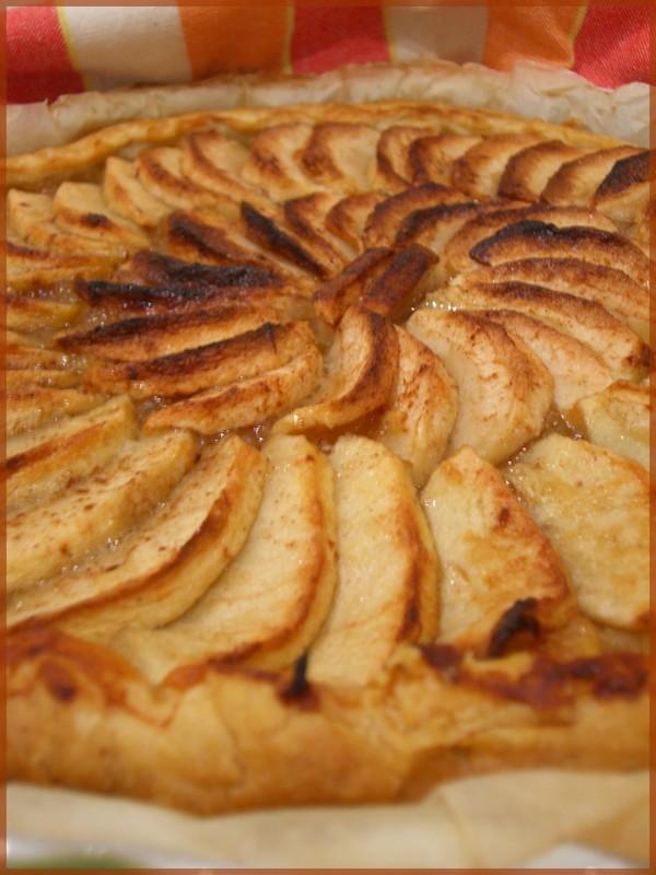 recette tarte aux pommes normande