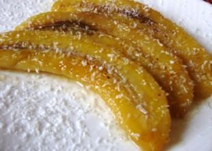 recette des bananes flambées