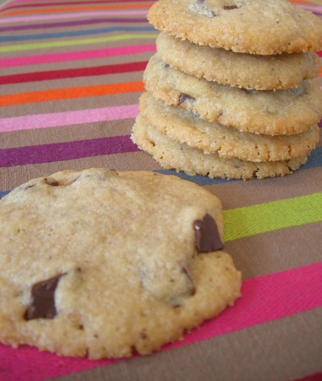 recette cookie chocolat noir lora todd