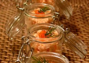 recette repas noel verrines et mise en bouches