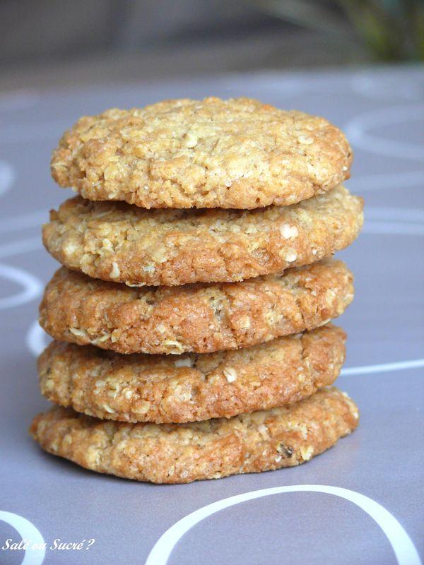 recette cookies flocons d 39 avoines sale ou sucr com. Black Bedroom Furniture Sets. Home Design Ideas