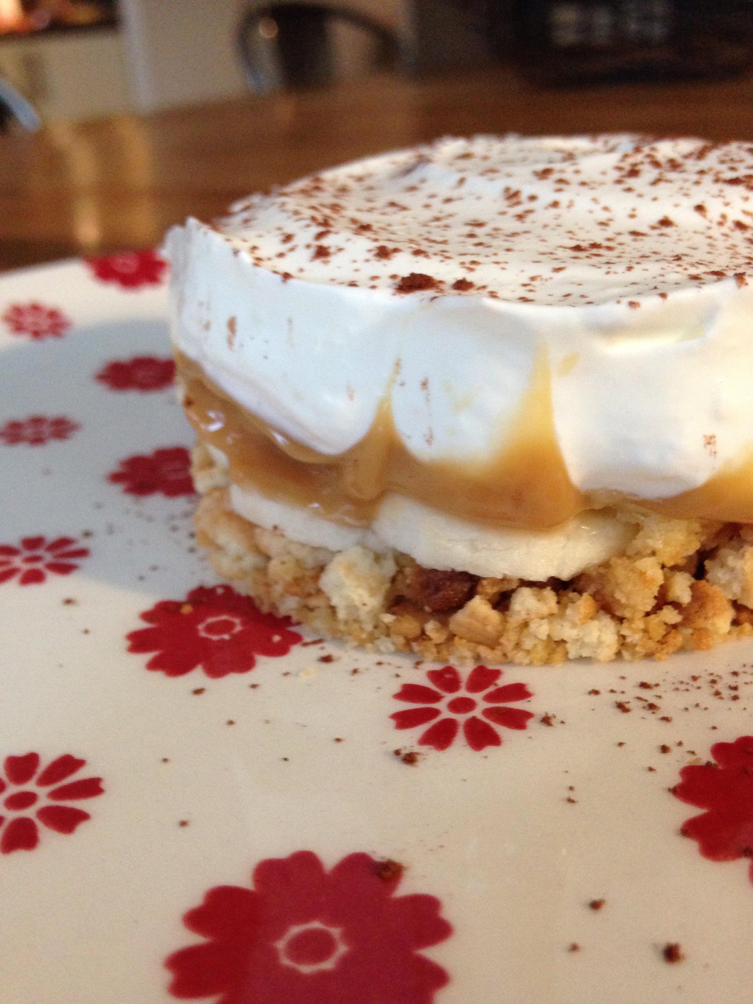 Recette de dessert Banofi